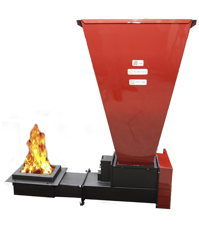 Bruciatore carcom kalor caldaie pellet legna sansa for Bruciatore a pellet per forno
